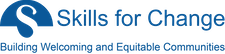 Employment Ontario @ Skills for Change logo