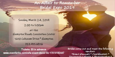 An Affair to Remember Bridal Expo 2019: #TellusyourLoveStory