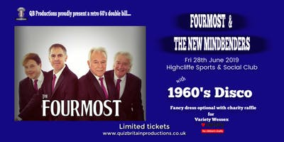 1960's Retro Night double bill with the Fourmost and the New Mindbenders