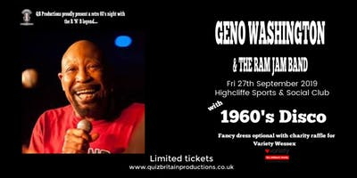 1960's Retro Night with Geno Washington & the Ram Jam Band