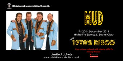 1970's Christmas Retro Night with Mud