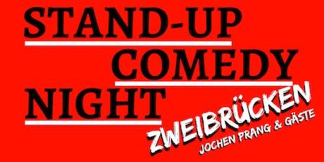 Zweibrücken: Stand-up Comedy Night #4 - Jochen Prang & Gäste Tickets