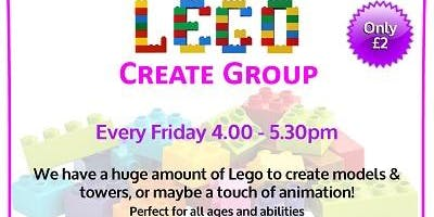 Lego Creative Club All Ages Abilities