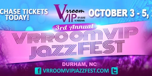 """2019 VrroomVIP JazzFEST -  *Limited* """"ALL-IN"""" VIP"""
