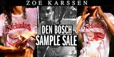 The Den Bosch Zoe Karssen Sample Sale 2018