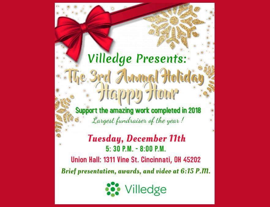 3RD ANNUAL HOLIDAY HAPPY HOUR
