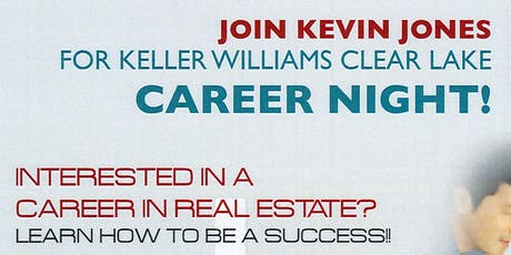 October Career Night with Kevin Jones  tickets