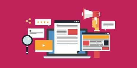 Content Marketing Advanced tickets