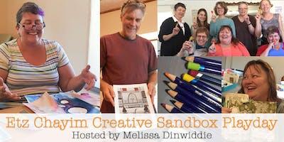 Etz Chayim Creative Sandbox Playday - January 2019