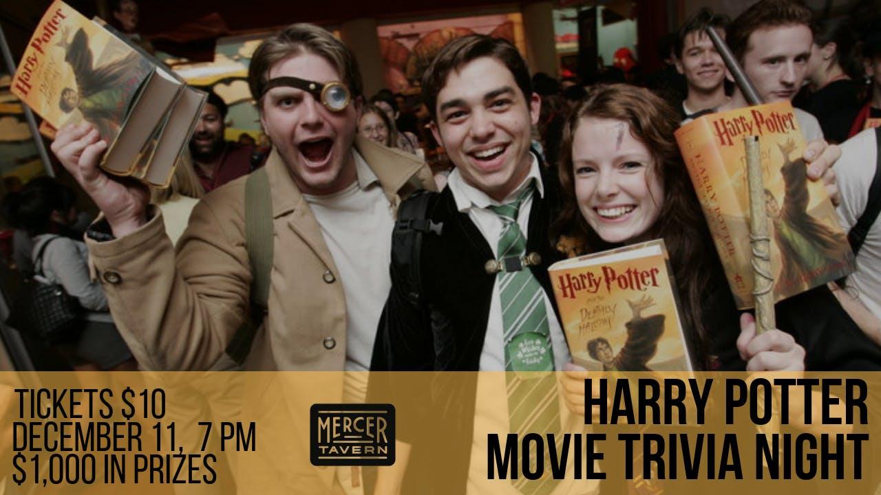 Harry Potter Movie Trivia at Mercer Tavern