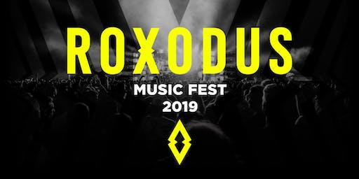 Roxodus Music Fest 2019 - Payment Plan