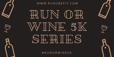 Run or Wine 5k, March 2019