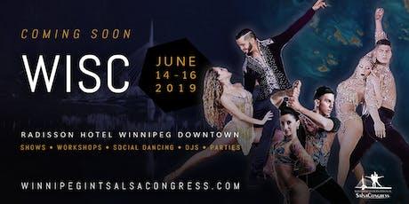 Winnipeg International Salsa Congress 2019 tickets