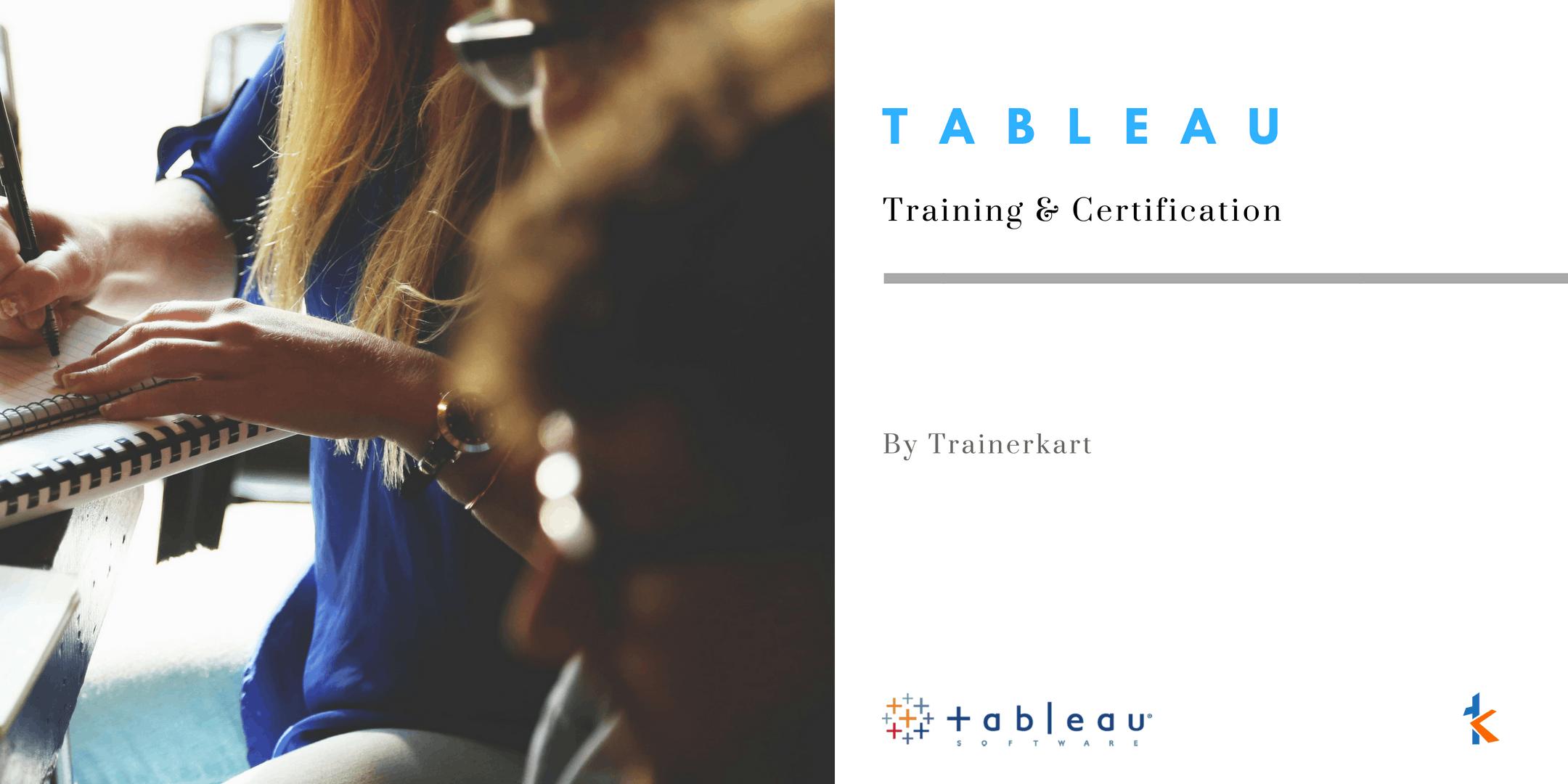 Tableau Classroom Training & Certification in