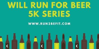 Will Run for Beer 5k, February 2019