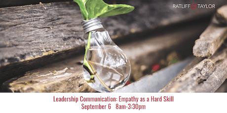 Leadership Communication: Empathy as a Hard Skill tickets