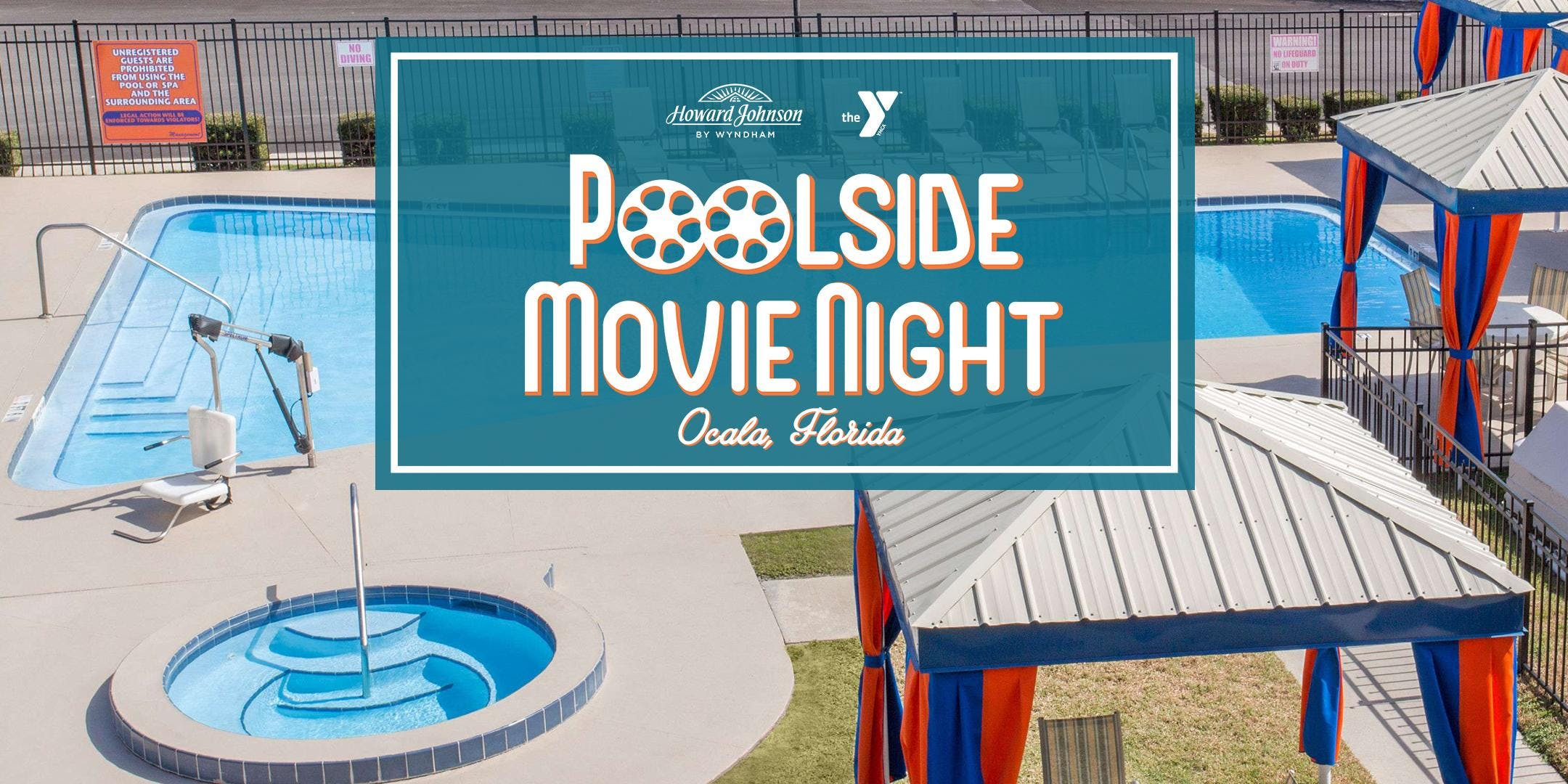 HoJo & the Y Present: Poolside Movie Nights at Ocala, FL | Ocala