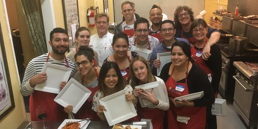 Team Building Cooking Parties /Holiday Parties - Los Angeles Cooking School