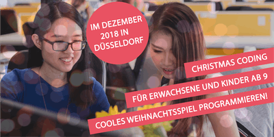 Christmas Coding Düsseldorf - Programmieren lernen mit Scratch!