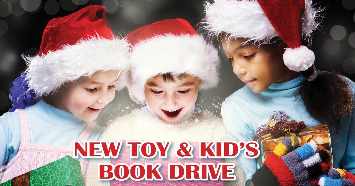 New Toy and Book Drive
