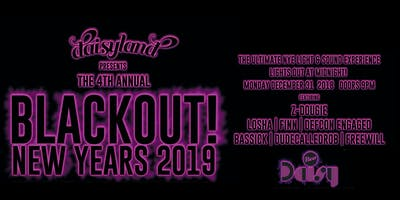 Daisyland presents BLACKOUT! New Years Eve 2019