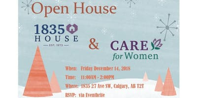 1835 House & CARE for Women - Open House
