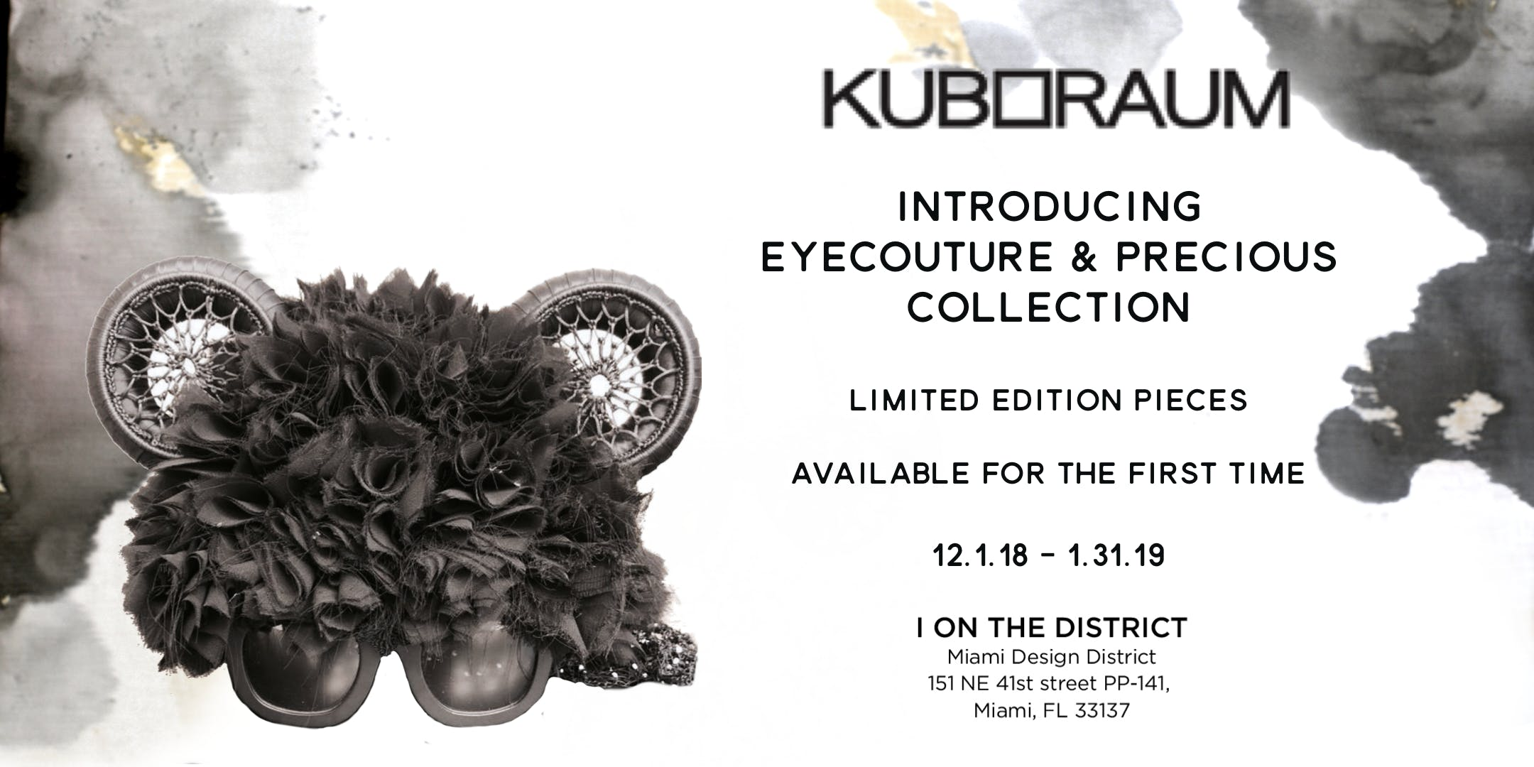 Introducing Kuboraum EyeCouture and Precious Collection