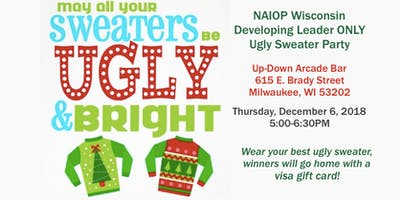 NAIOP DL Only Ugly Sweater Happy Hour at Up-Down Arcade Bar