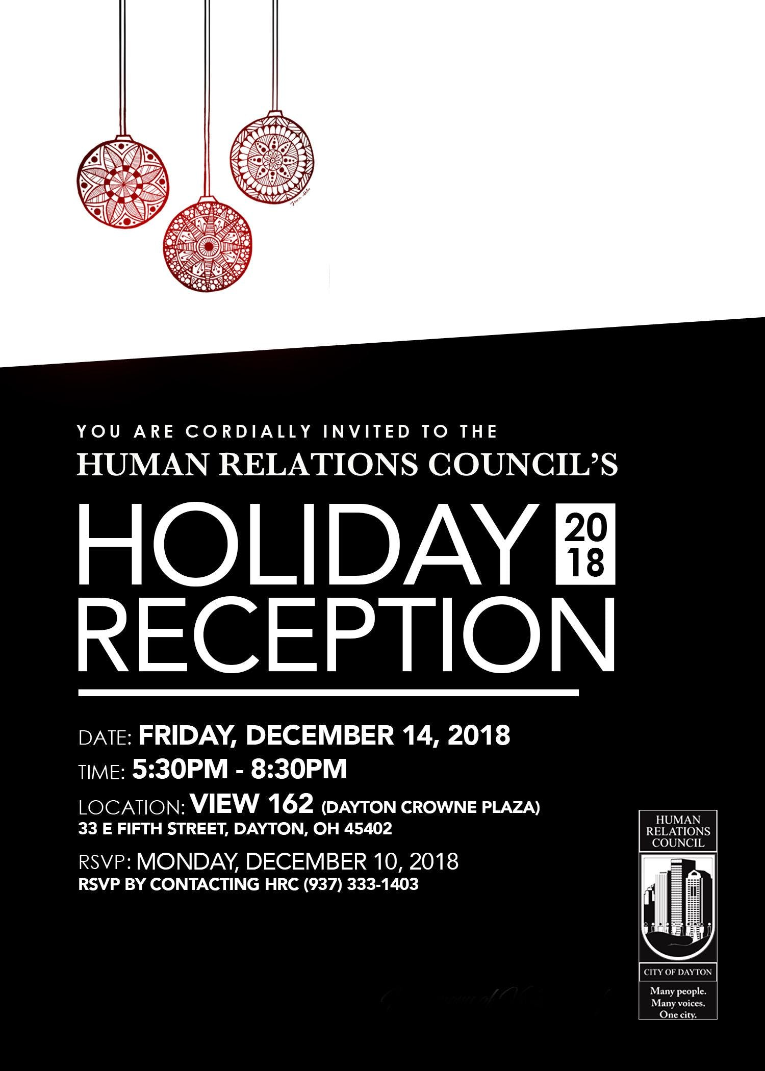 Human Relations Council's Holiday Reception
