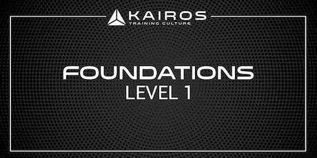 Kairos Training Camp Level 1 - Foundations - Bay Area tickets