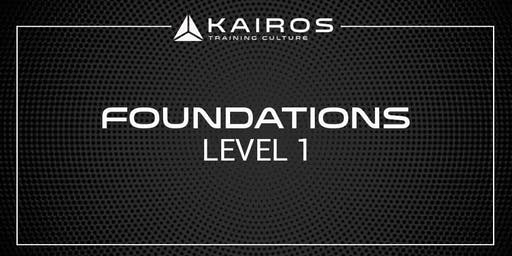 Kairos Training Camp Level 1 - Foundations - Bay Area