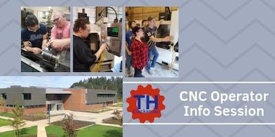 CNC Machine Operator Training Information Session