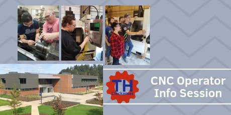 CNC Machine Operator Training Information Session tickets