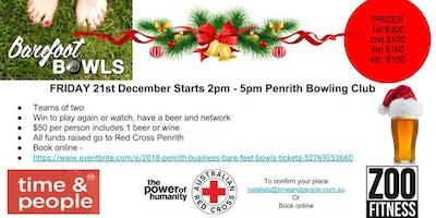 Christmas 2018 Penrith Business Bare Foot Bowls
