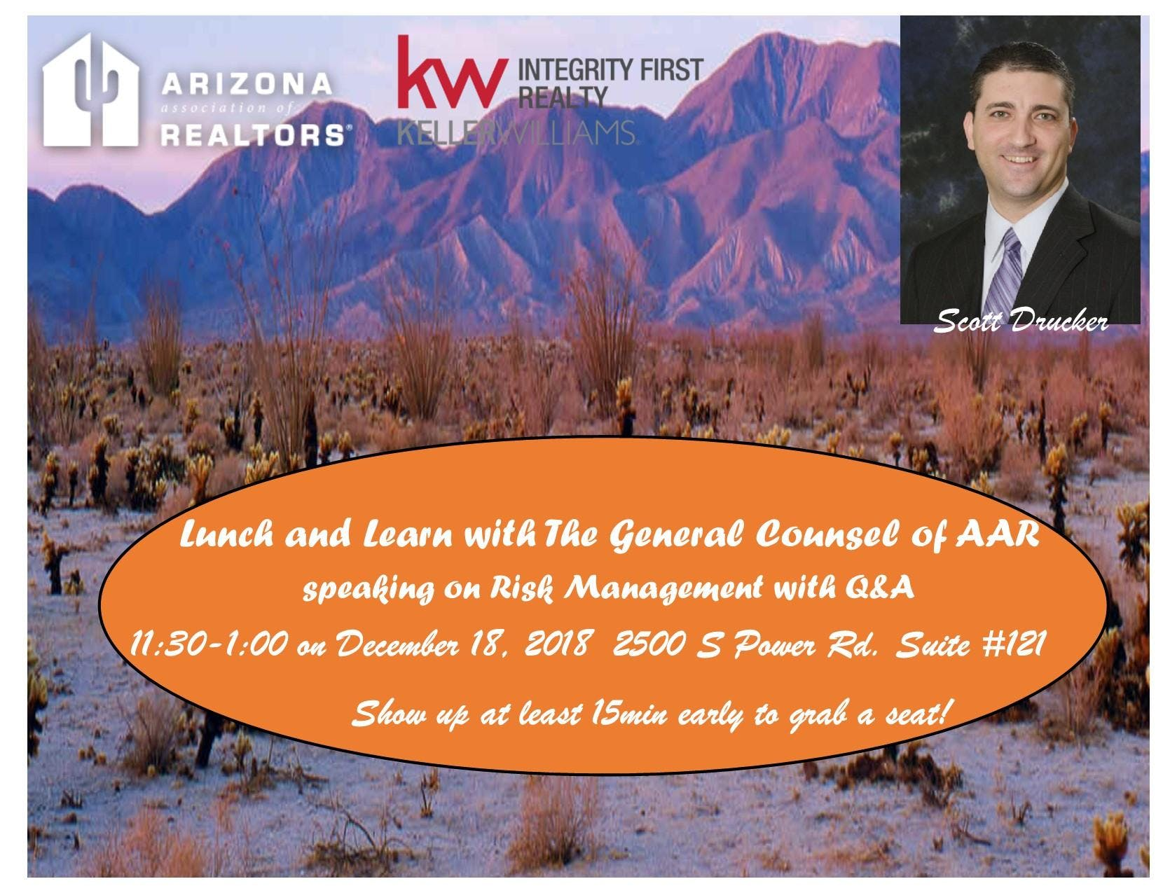 Lunch and Learn with AAR Scott Drucker