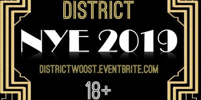 District Lounge Presents 18+ New Years Eve Party - Monday December 31, 2018