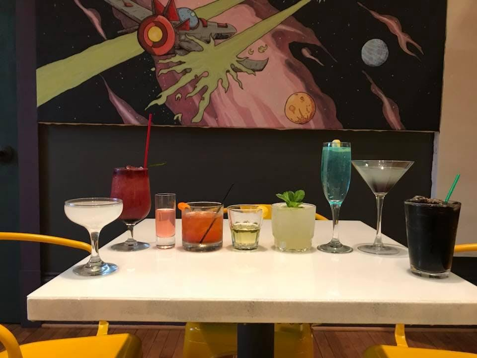 Holiday Mocktails with Earthbound Satellite