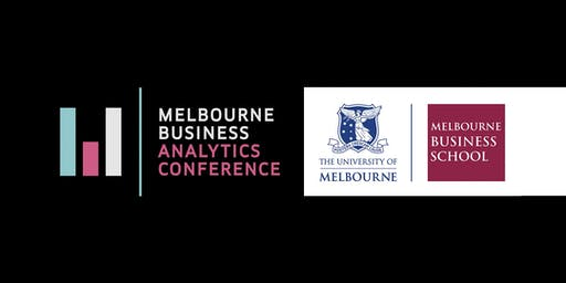 Melbourne Business Analytics Conference 2019