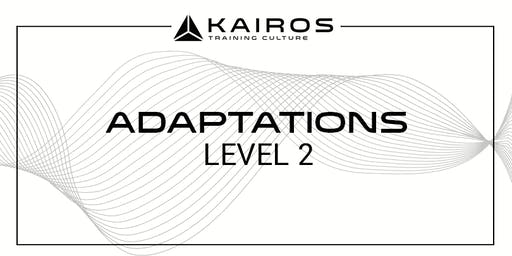 Kairos Training Camps Level 2 - Adaptations - Marietta, GA