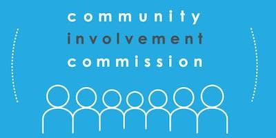 Community Involvement Commission Annual Report Launch Reception