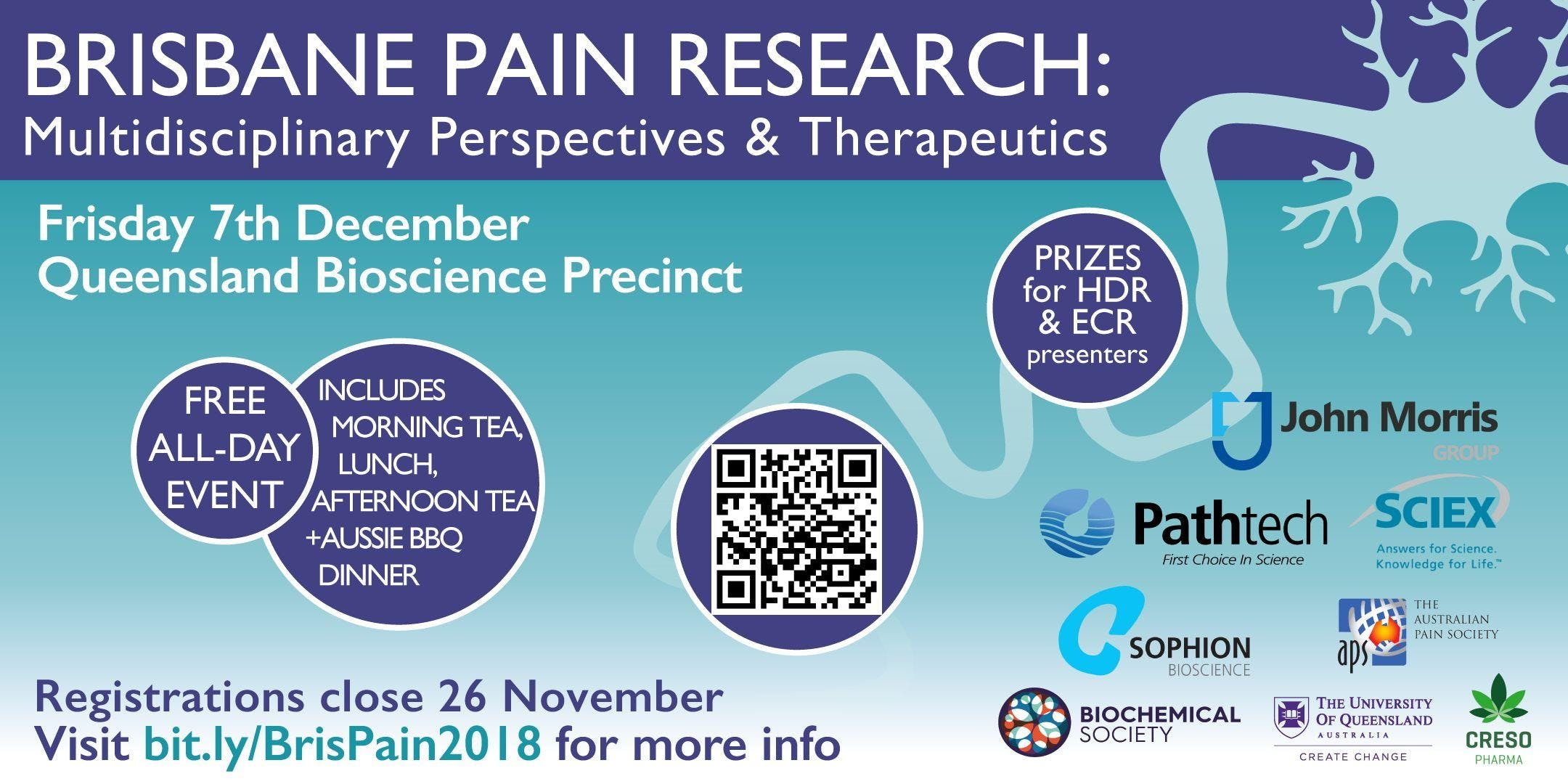 Brisbane Pain Research: Multidisciplinary Perspectives & Therapeutics