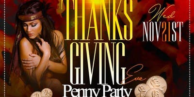 12th Annual Thanksgiving Eve Penny Party