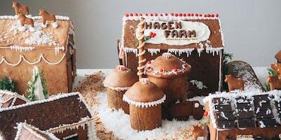 Gingerbread House Makin\