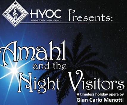 "Amahl and the Night Visitors with a ""local"" t"