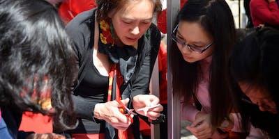 Papercutting workshop with artist Tianli Zu