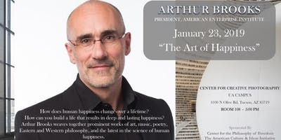 """Arthur Brooks """"The Art of Happiness""""   The Voices of Culture Lecture Series"""