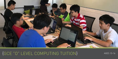 Tuition - GCE 'O' Level Computing - Secondary 3 - (By Term) tickets
