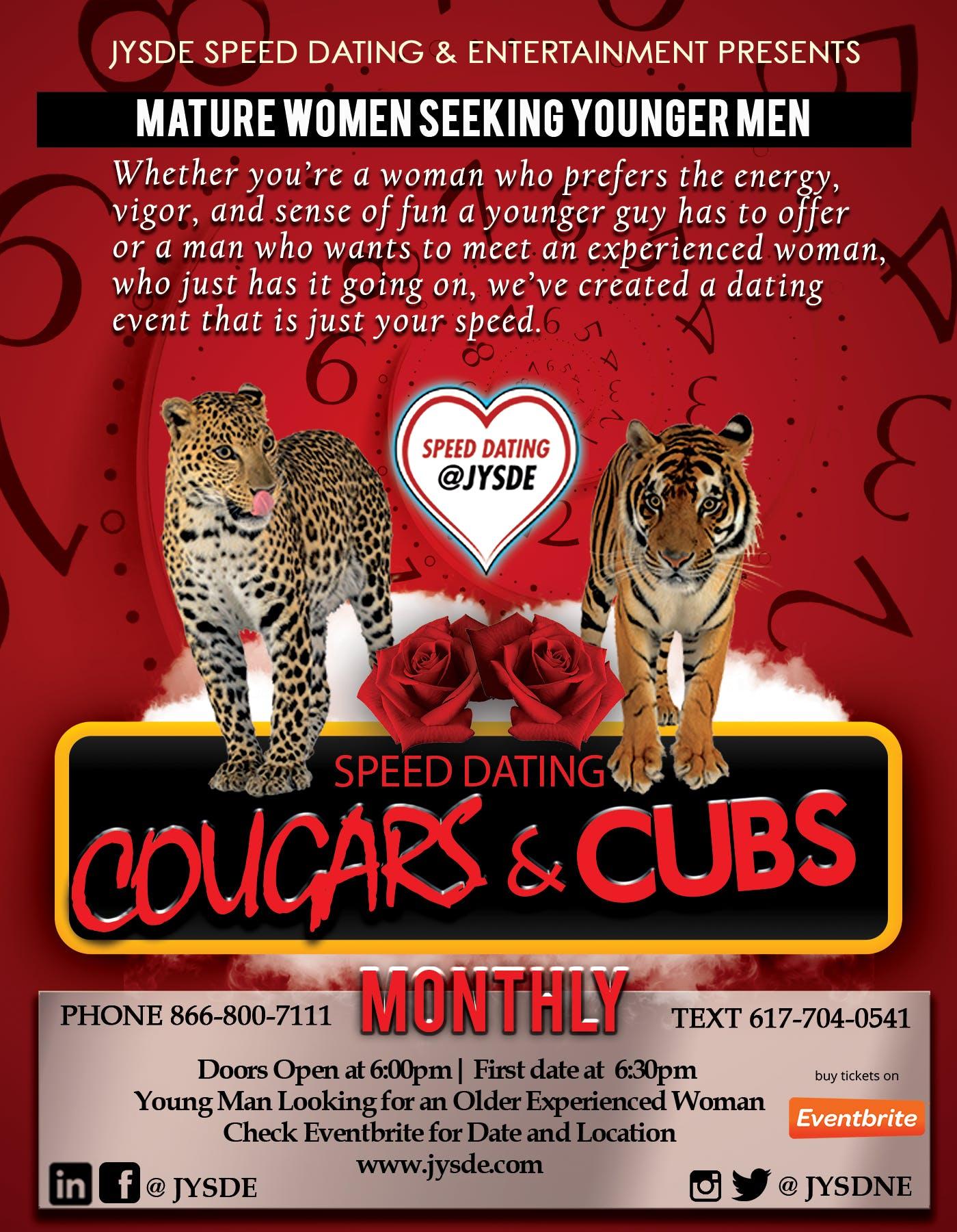 cougars seeking cubs