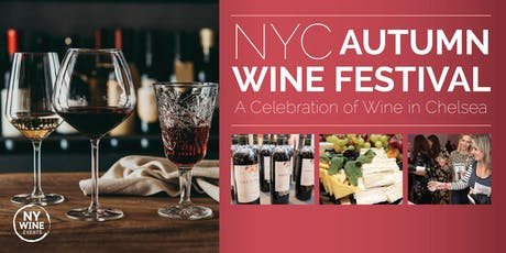 NYC Autumn Wine Festival tickets