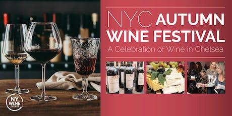 NYC Autumn Wine Festival tickets